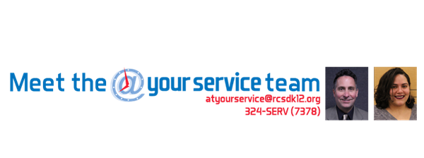 Meet the @ Your Service Team!