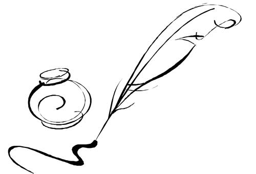 Image of quill and ink