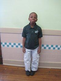 Student in School Uniform
