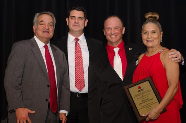 George Eastman Award from the American Red Cross and Honors from the Rochester Business Journal
