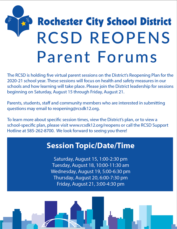 Parent Forum for Reopening English