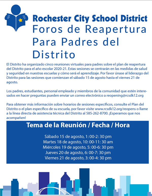Parent Forum for Reopening Spanish