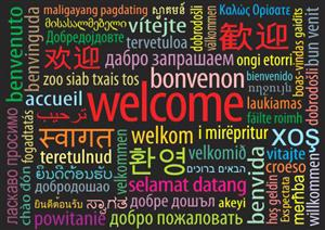 Multilingual Welcome