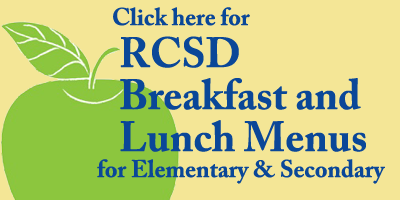 RCSD Breakfast and Lunch Menus