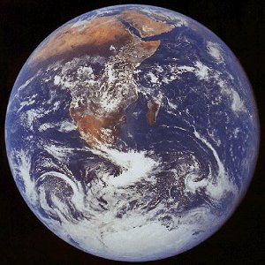 View of Earth
