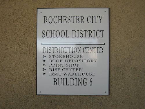 Distribustion Center Sign