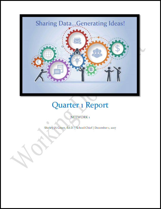Network One School Chief Report