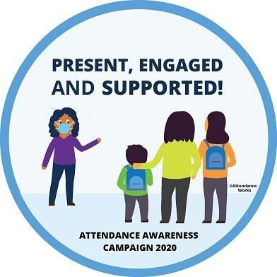 Attendance Awareness Campaign Logo