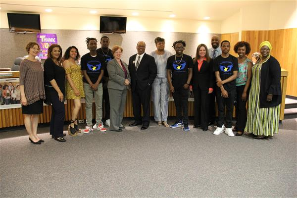 Students from Leadership Academy For Young Men Recognized for Participation in My Brother's Keeper Initiative