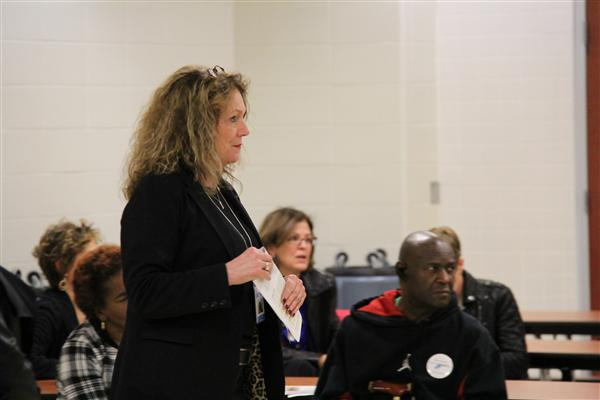 Parent advisory council hosts a meet and greet with the superintendent superintendent deane williams listens to parent ideas and concerns at the november 2016 pac meeting m4hsunfo