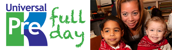 Many PreK classrooms are expanding their school day starting February 3, 2014