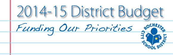 Finance / RCSD 2014-15 Budget Overview