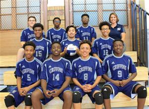 varsity boys' volleyball