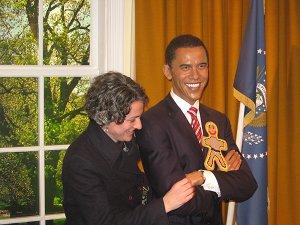 Chris and Pres. Obama