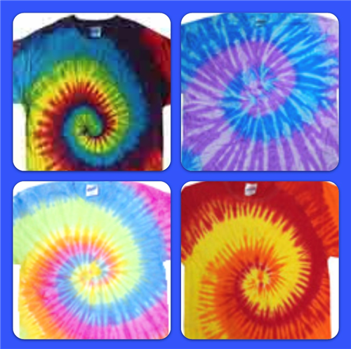 Tie Dye Shirt Colors