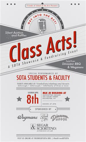 Class Acts Flier