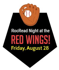 Join us and celebrate reading at the Red Wings!