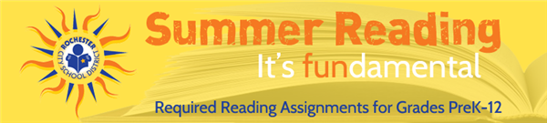 Learn more about required reading assignments for grades PreK-12 and download a reading packet today!